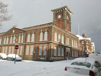 Town Hall Snow1